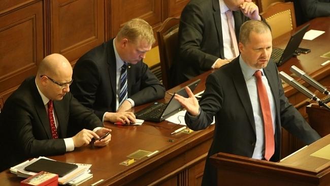 Petr Fiala: Interpelace na premiéra ve věci státního rozpočtu
