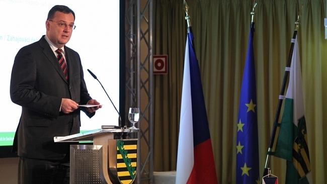 Projev premiéra a předsedy ODS na Česko-saské energetické konferenci