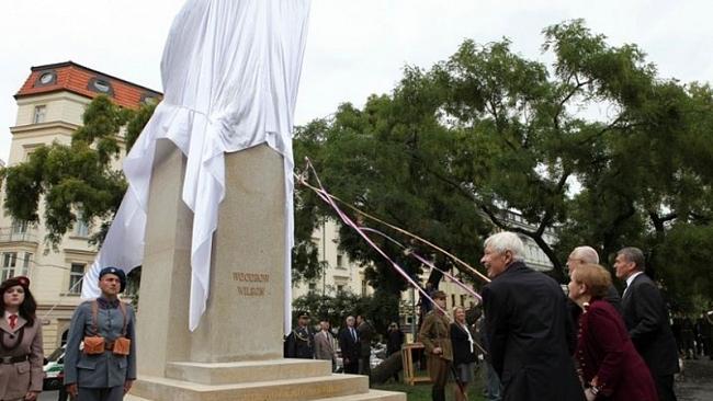 Projev primátora hl. města Prahy na slavnostním odhalení pomníku amerického prezidenta Woodrowa Wilsona