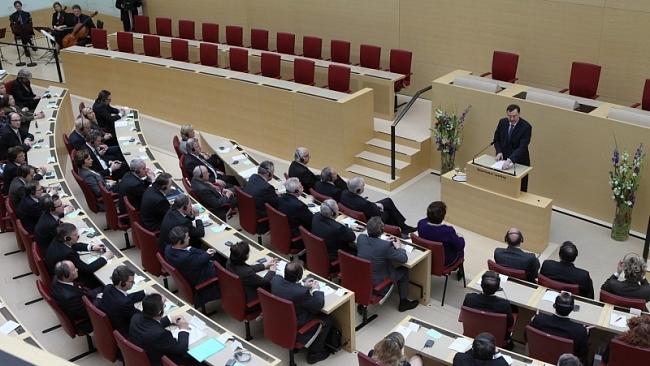 Projev předsedy vlády před poslanci Bavorského zemského sněmu