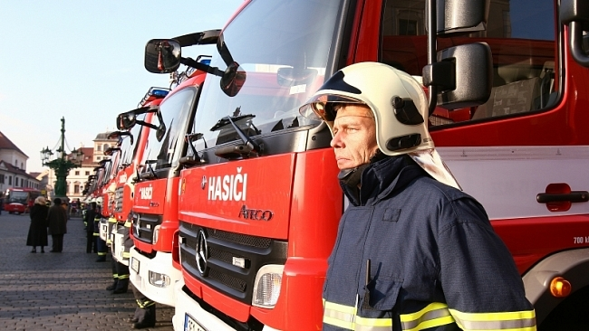 Poslanci ODS chtějí najít peníze pro hasiče