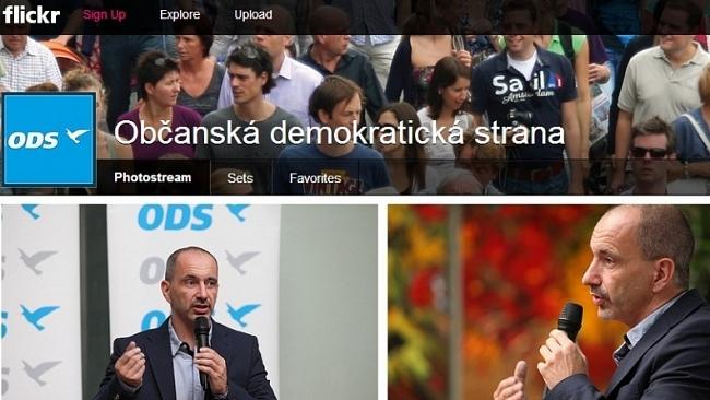 ODS spouští Flickr a Pinterest