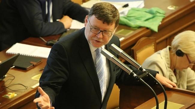 Projev na 19. schůzi Poslanecké sněmovny