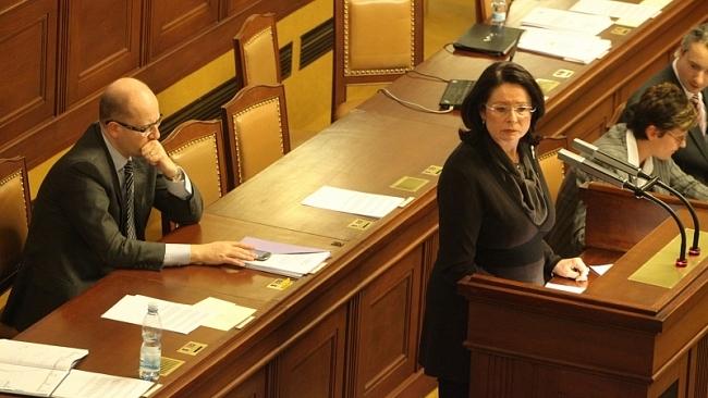 Vystoupení na 28. schůzi Poslanecké sněmovny k vyslovení nedůvěry vládě