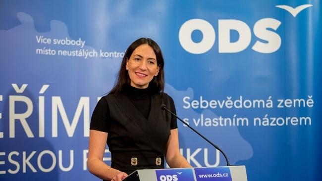 ODS: Alexandra Udženija zvolena 1. místopředsedkyní ODS