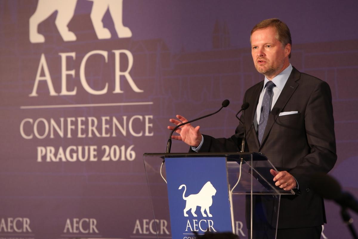 Petr Fiala: Projev na konferenci AECR
