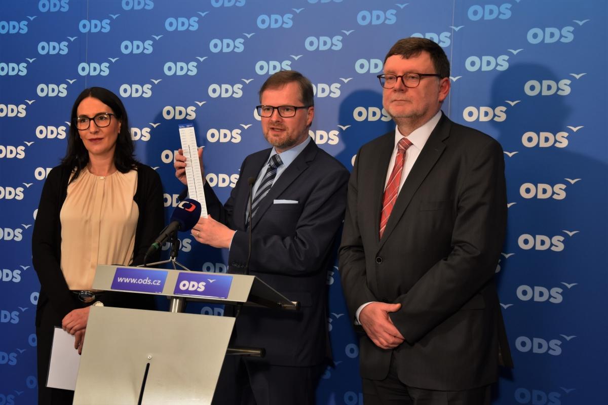 ODS: Náš daňový balíček zvýší čisté mzdy o 7 % všem zaměstnancům