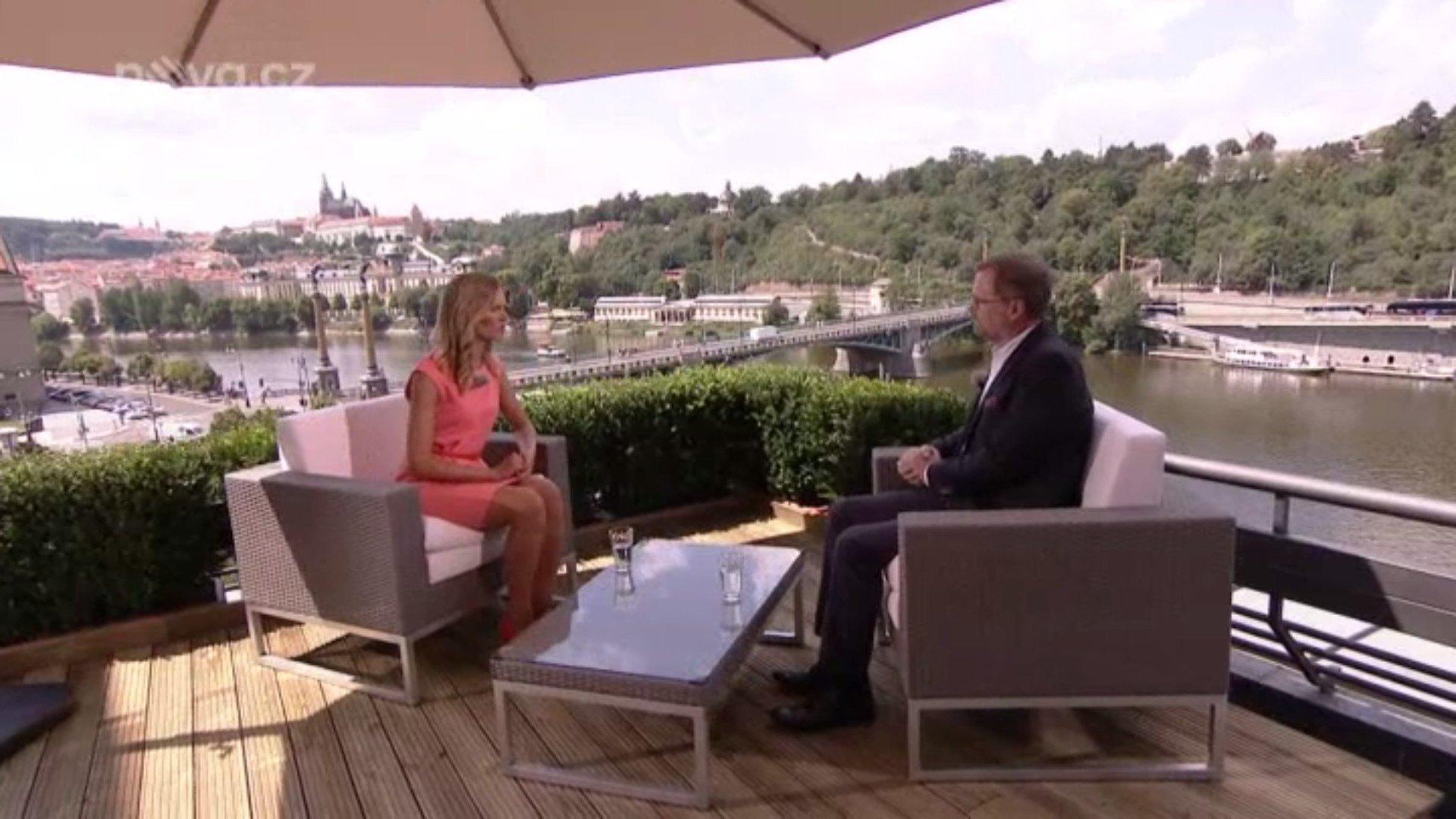 Petr Fiala: Letní interview TV Nova