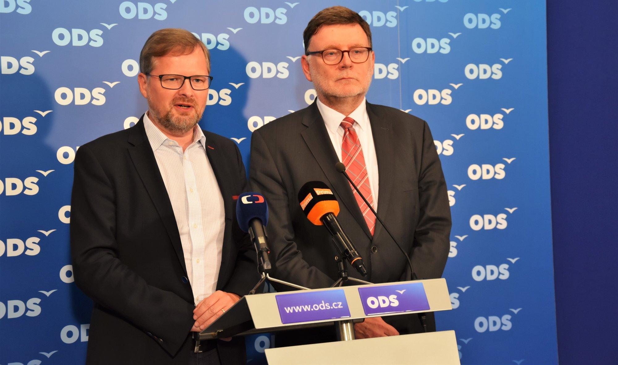 Petr Fiala: Vyjádření k žádosti policie o vydání Andreje Babiše a Jaroslava Faltýnka k trestnímu stíhání
