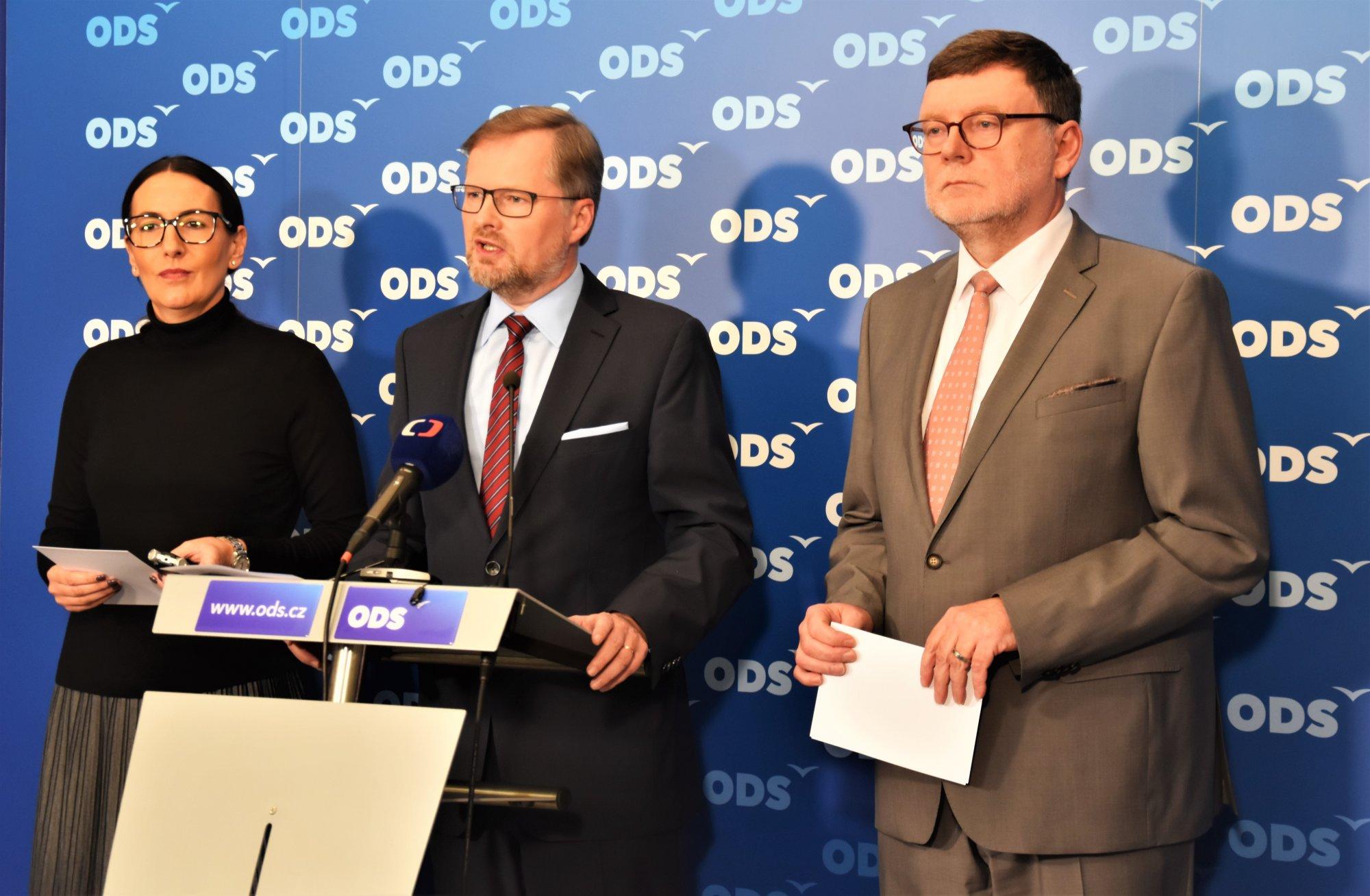 ODS: Aby na nás neklekli populisti s komunisty