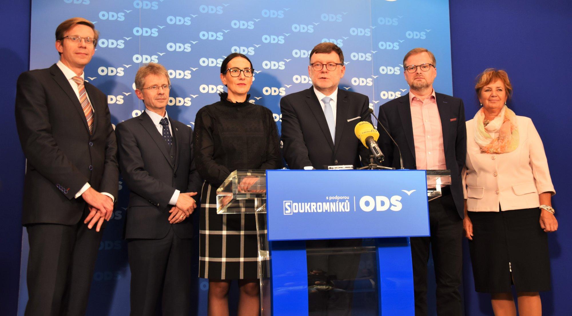 Petr Fiala: ODS nebude jednat s hnutím ANO o vládě nebo její podpoře