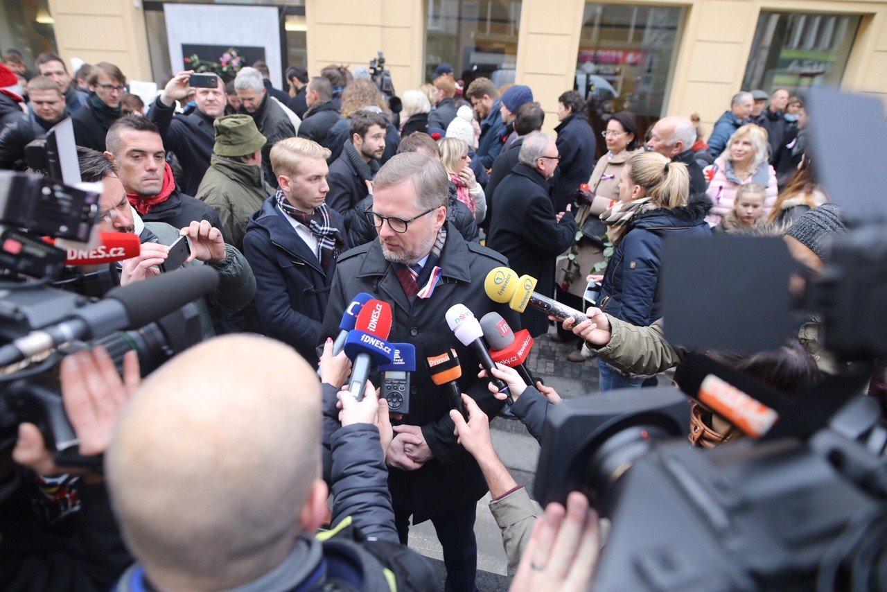 Petr Fiala: Demokracii budeme mít tak dlouho, jak budeme chtít