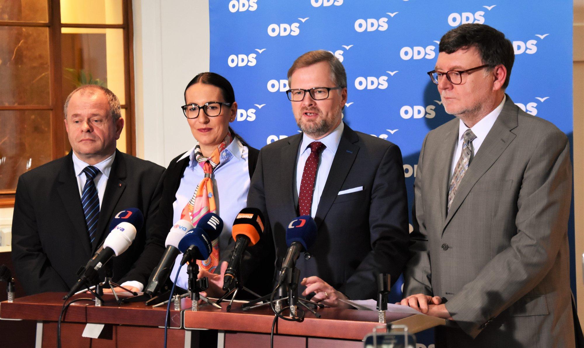 ODS: Předkládáme balíček 7 důležitých zákonů. Náš program budeme prosazovat i v opozici