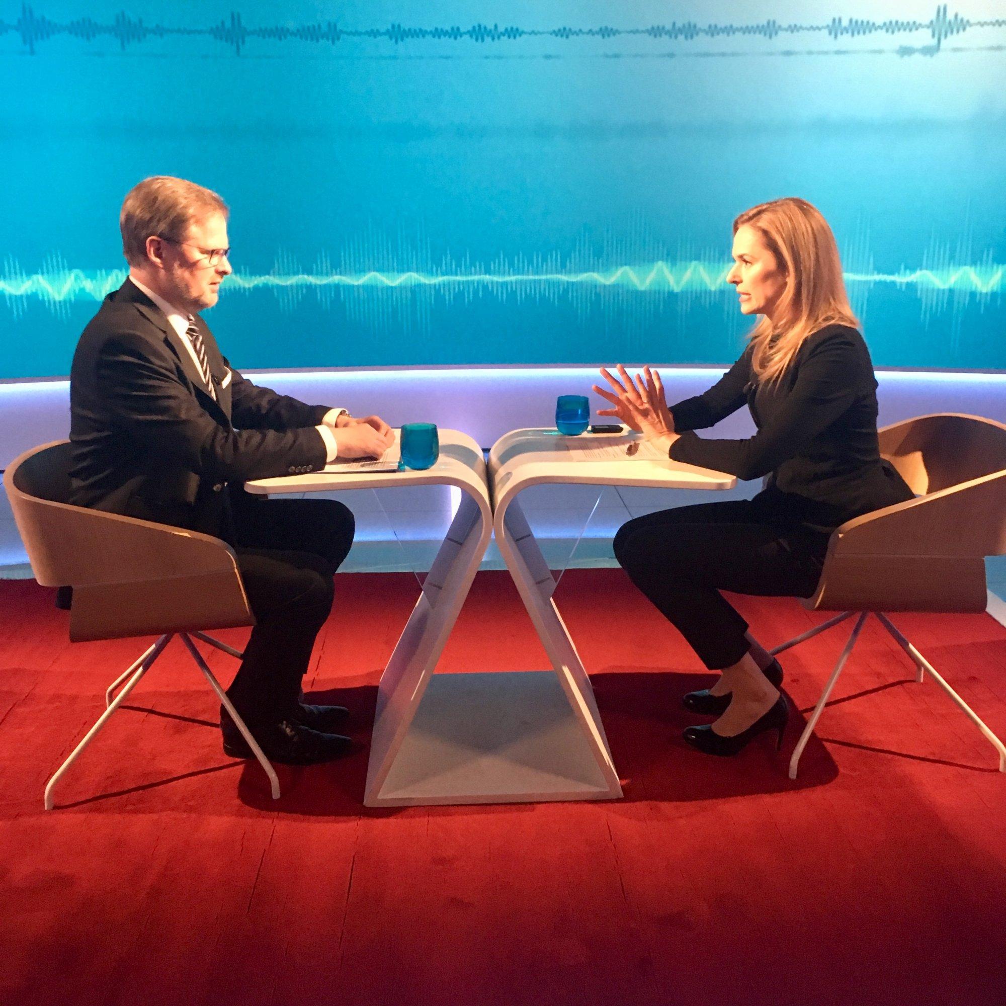 Petr Fiala: Interview ČT24