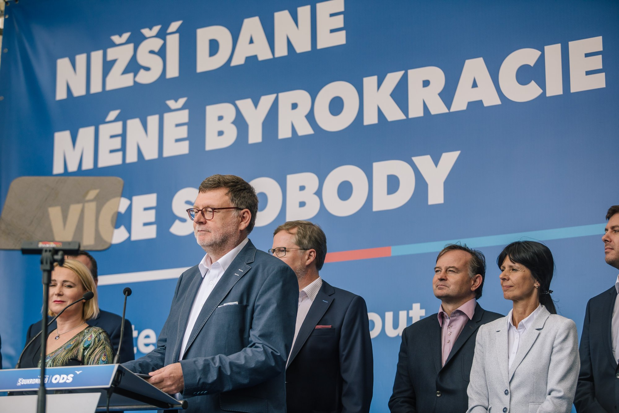 Občanská demokratická strana odevzdala závěrečnou zprávu o financování volební kampaně na ÚDHPSH