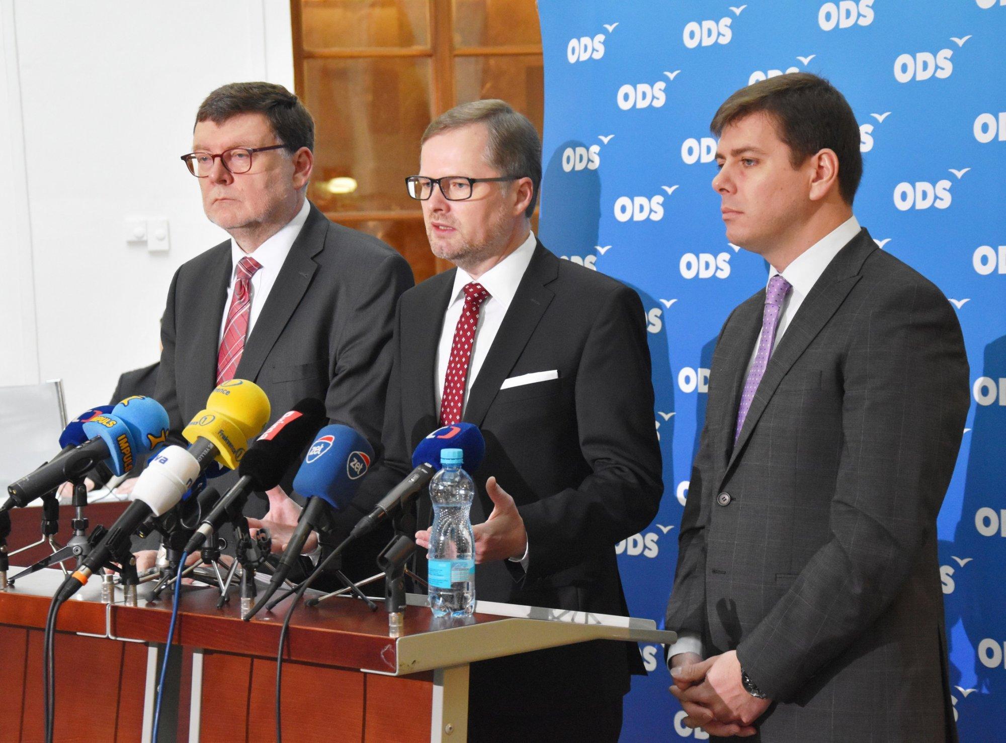 ODS: Návrhy ministerstva financí na změny v oblasti daní jsou jen laciný marketingový trik