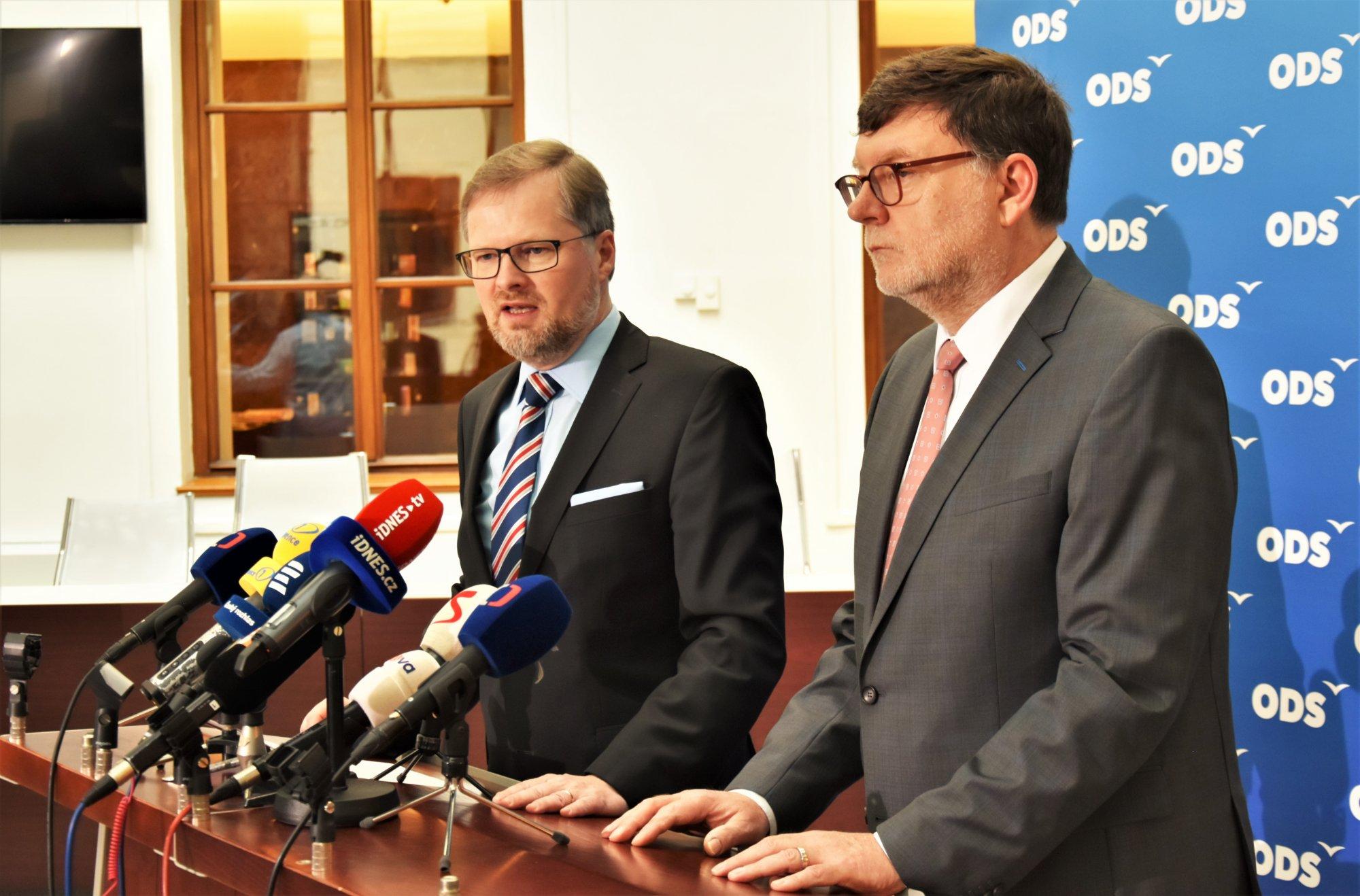 ODS: Vláda bez důvěry nesmí provádět zásadní personální změny