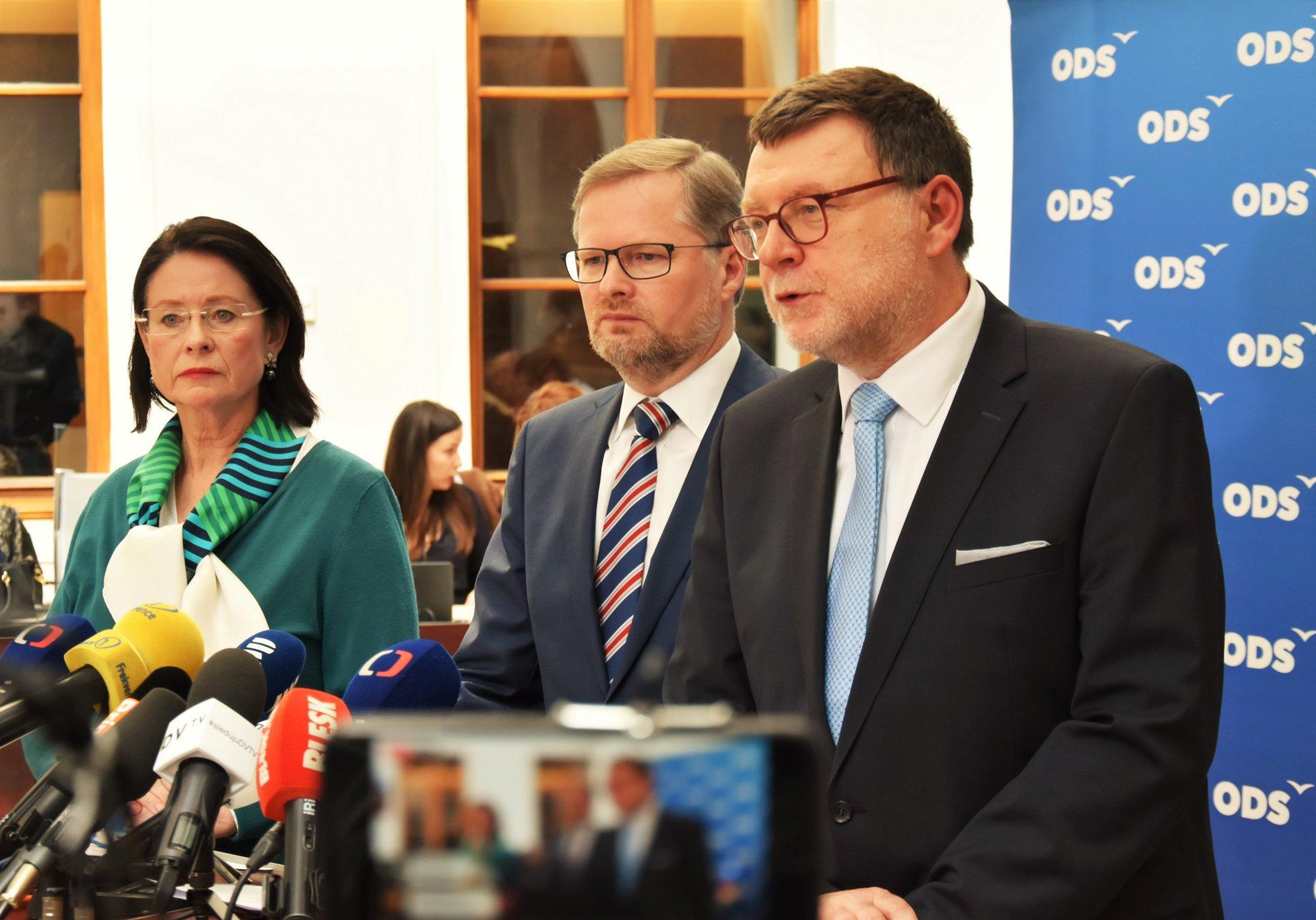 ODS: Spojenectví s USA je základní kámen zahraniční a bezpečnostní politiky ČR. Zeman jedná v zájmu Ruska