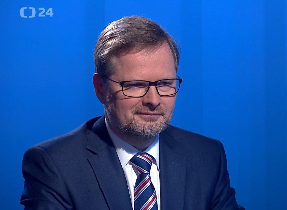 Petr Fiala: Interview ČT24: Prezident Zeman poškozuje zájmy Česka