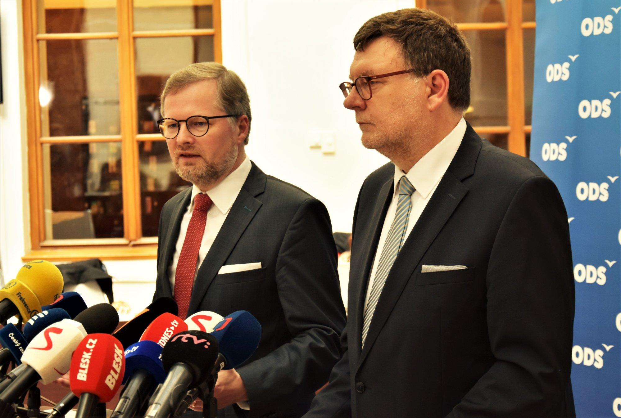 Petr Fiala: ANO zavedlo ČR do politické krize. Proto jsem požádal prezidenta Zemana o schůzku