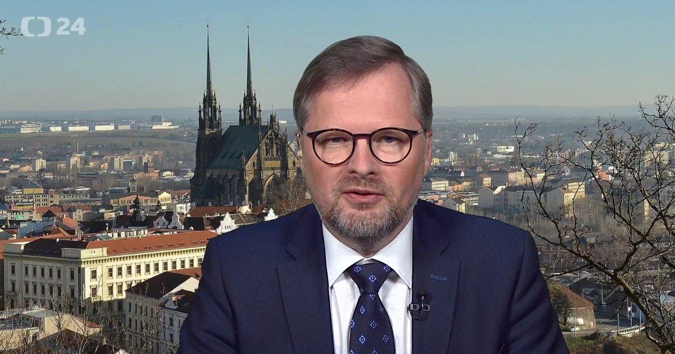 Petr Fiala: Interview ČT24: Vláda s podporou KSČM překračuje červenou čáru, která platila skoro 30 let