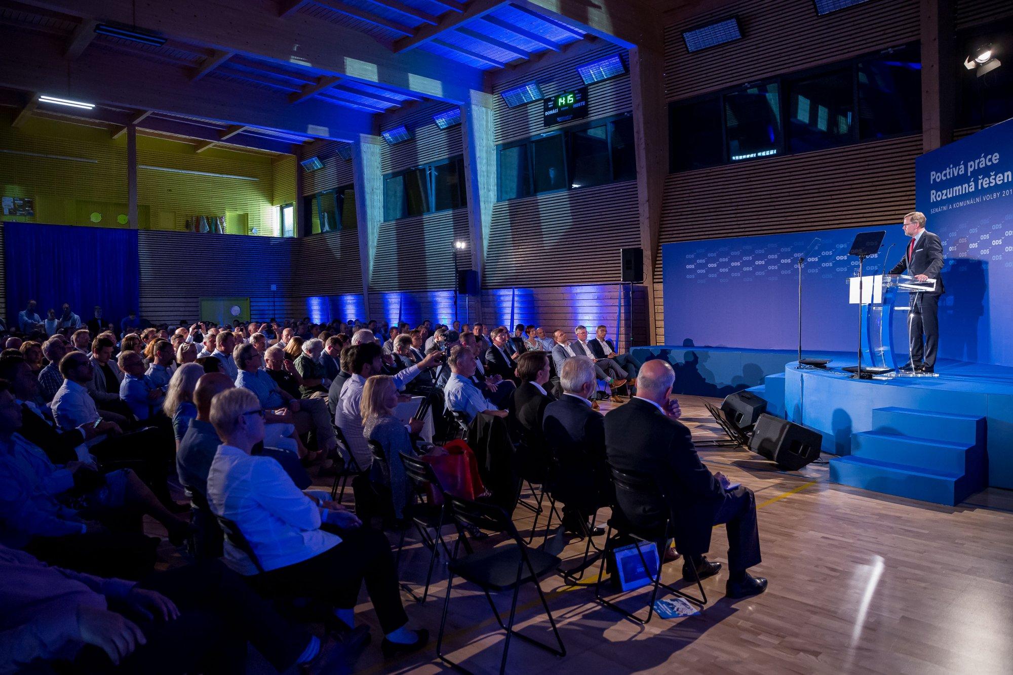 Petr Fiala: Projev na Programové konferenci ODS: Jsme alternativou proti regulacím a státnímu dohledu. Svobodu budeme bránit i nadále