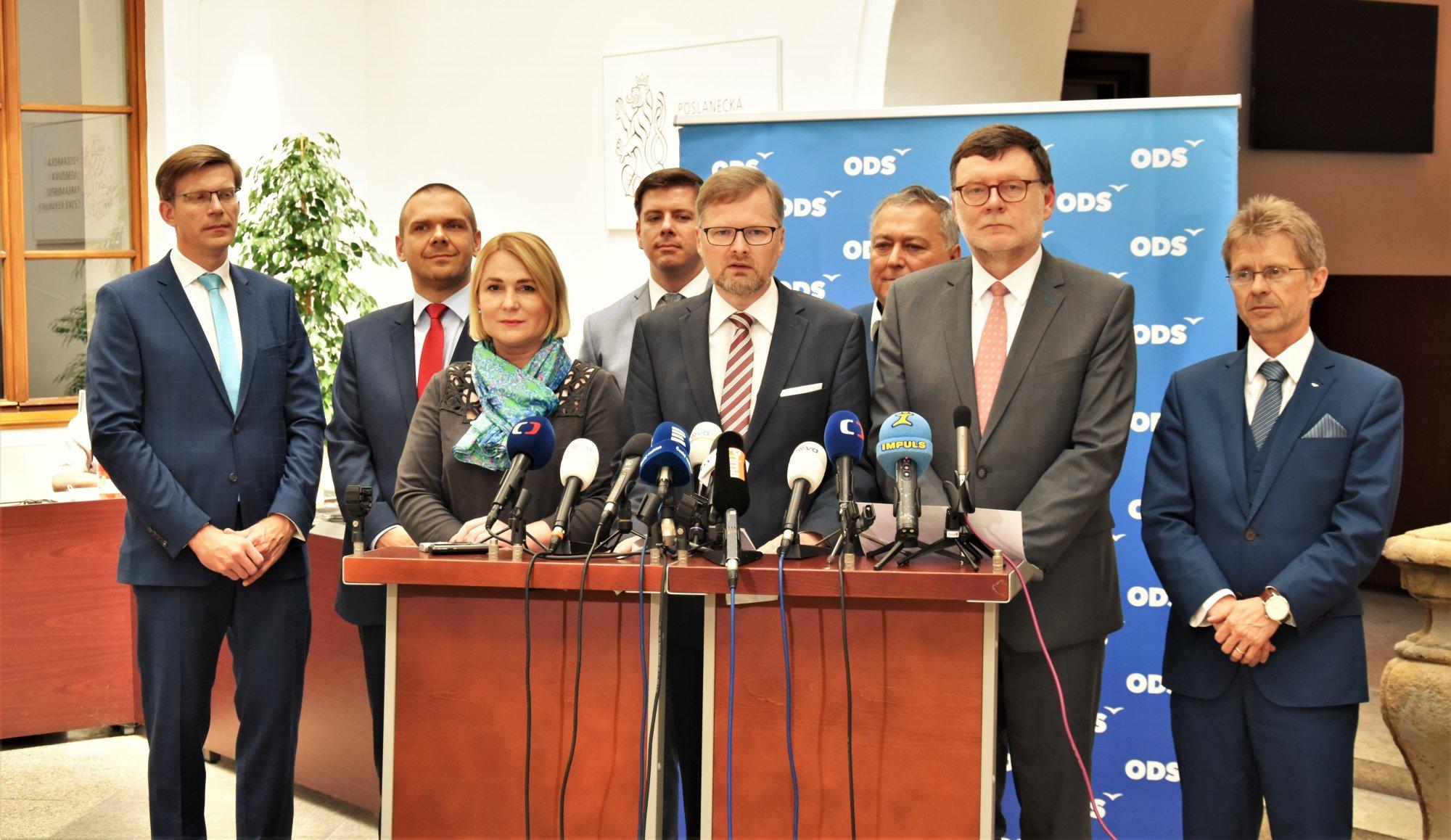 """ODS: Představujeme dokument """"Opoziční principy – rozumná alternativa pro Česko"""""""