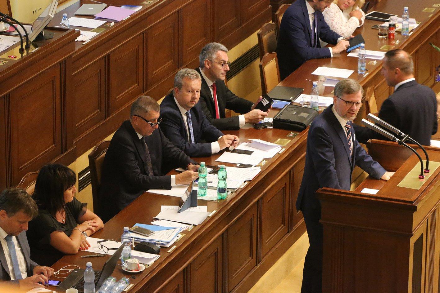 Petr Fiala: Projev na schůzi Poslanecké sněmovny k vyslovení důvěry vládě