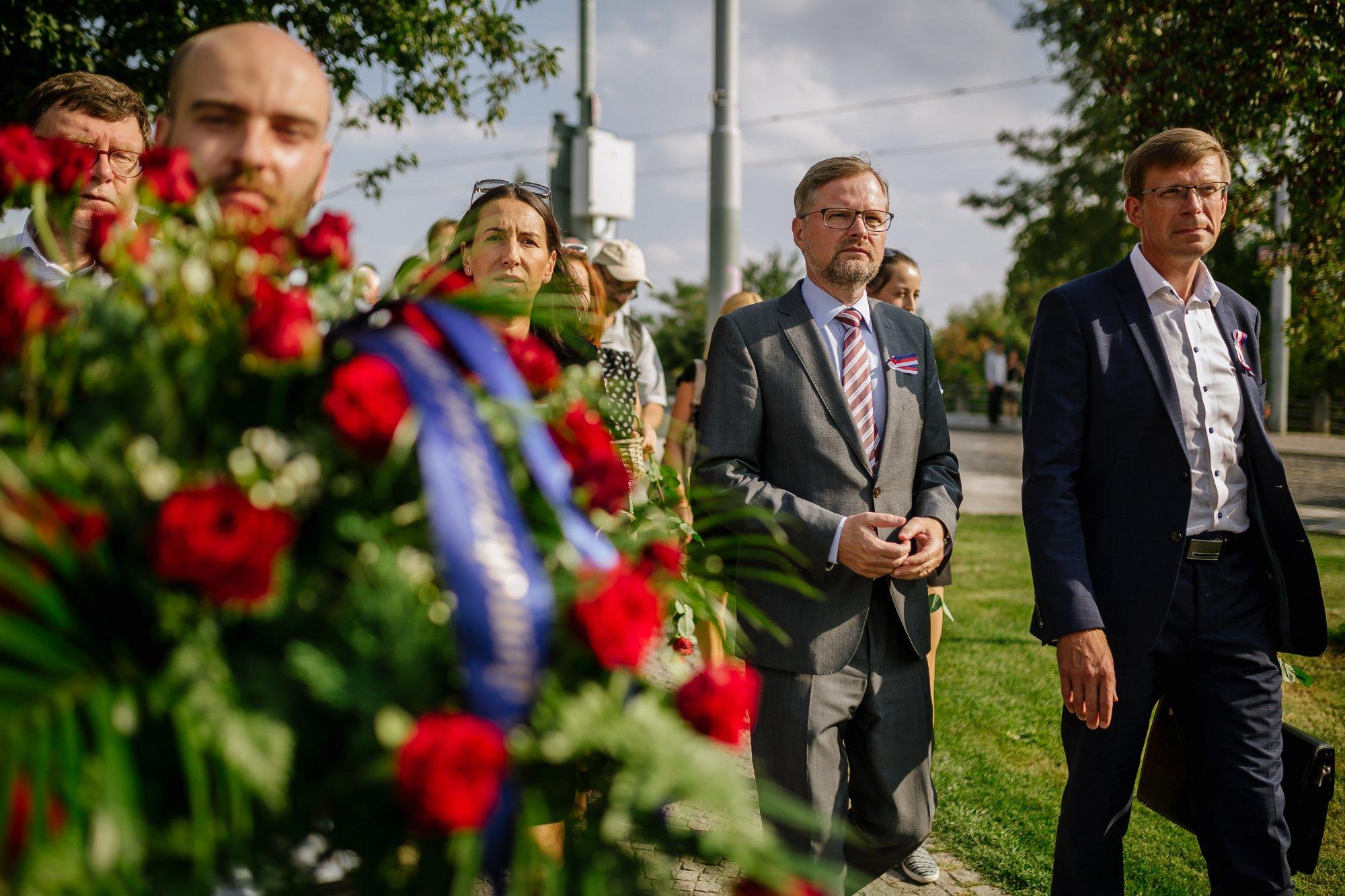 Petr Fiala: Poučením z minulosti musí být naše jasné ukotvení ve společenství demokratických států