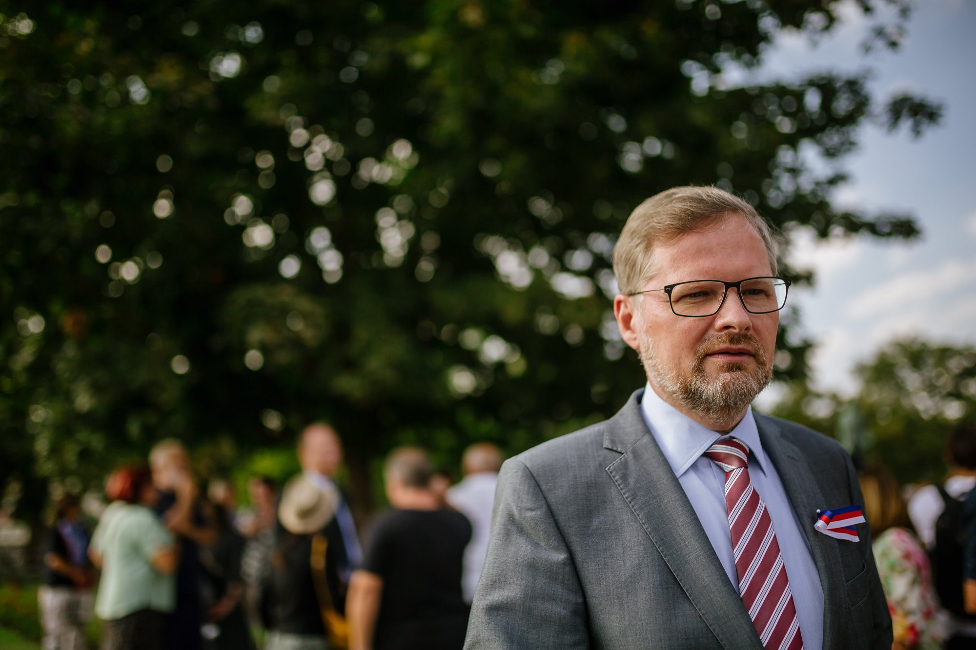 Petr Fiala: Výročí srpna 68 ukázalo, že vlastenectví si nenecháme ukrást blázny ani extremisty
