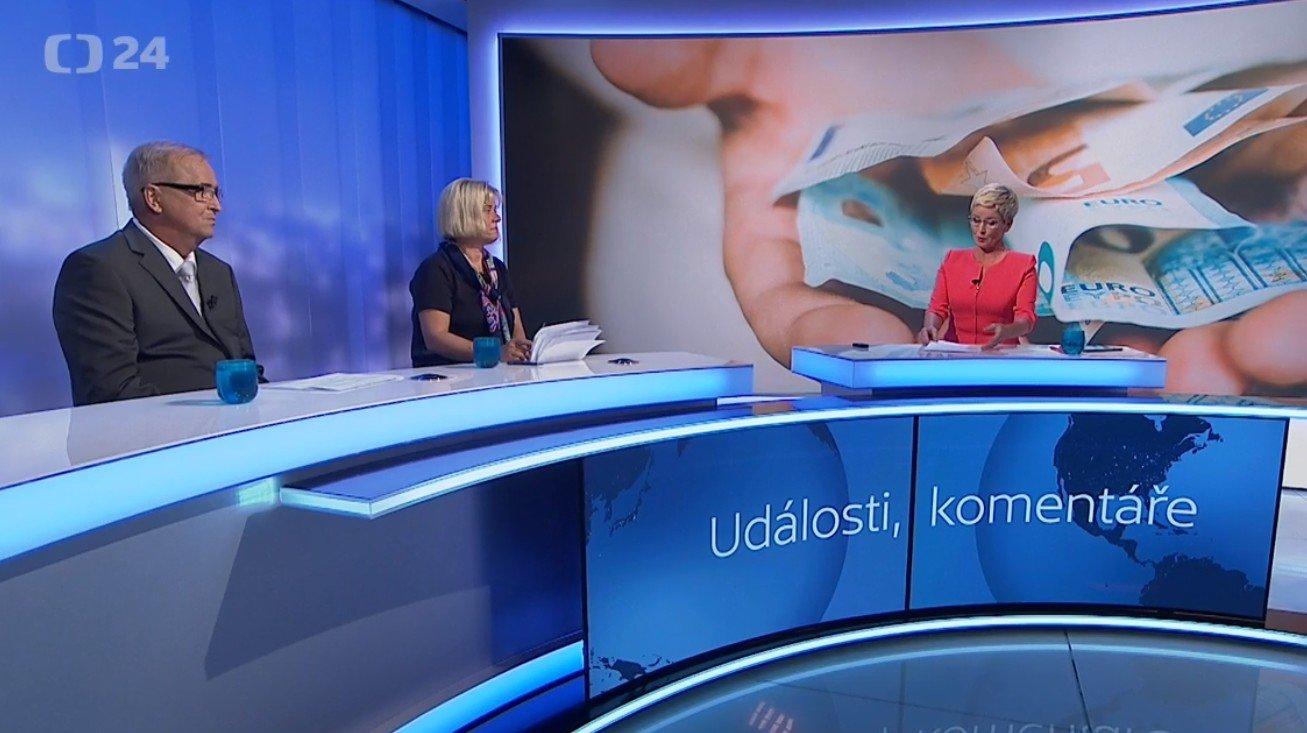 Události, komentáře: Jak čerpá Česko evropské dotace?