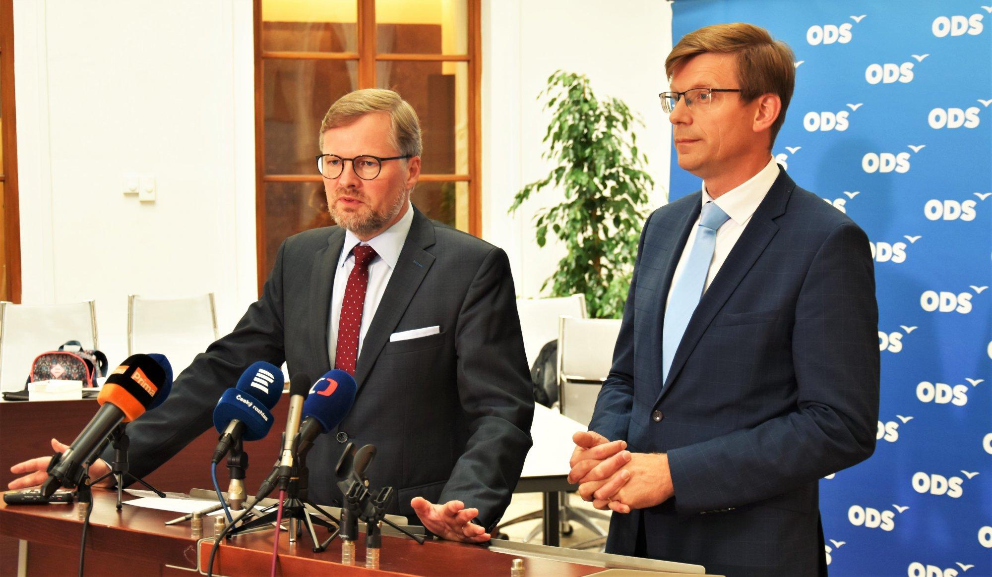 Petr Fiala: Za neschopnost vlády nese odpovědnost Andrej Babiš, nelze ji svalovat na ODS