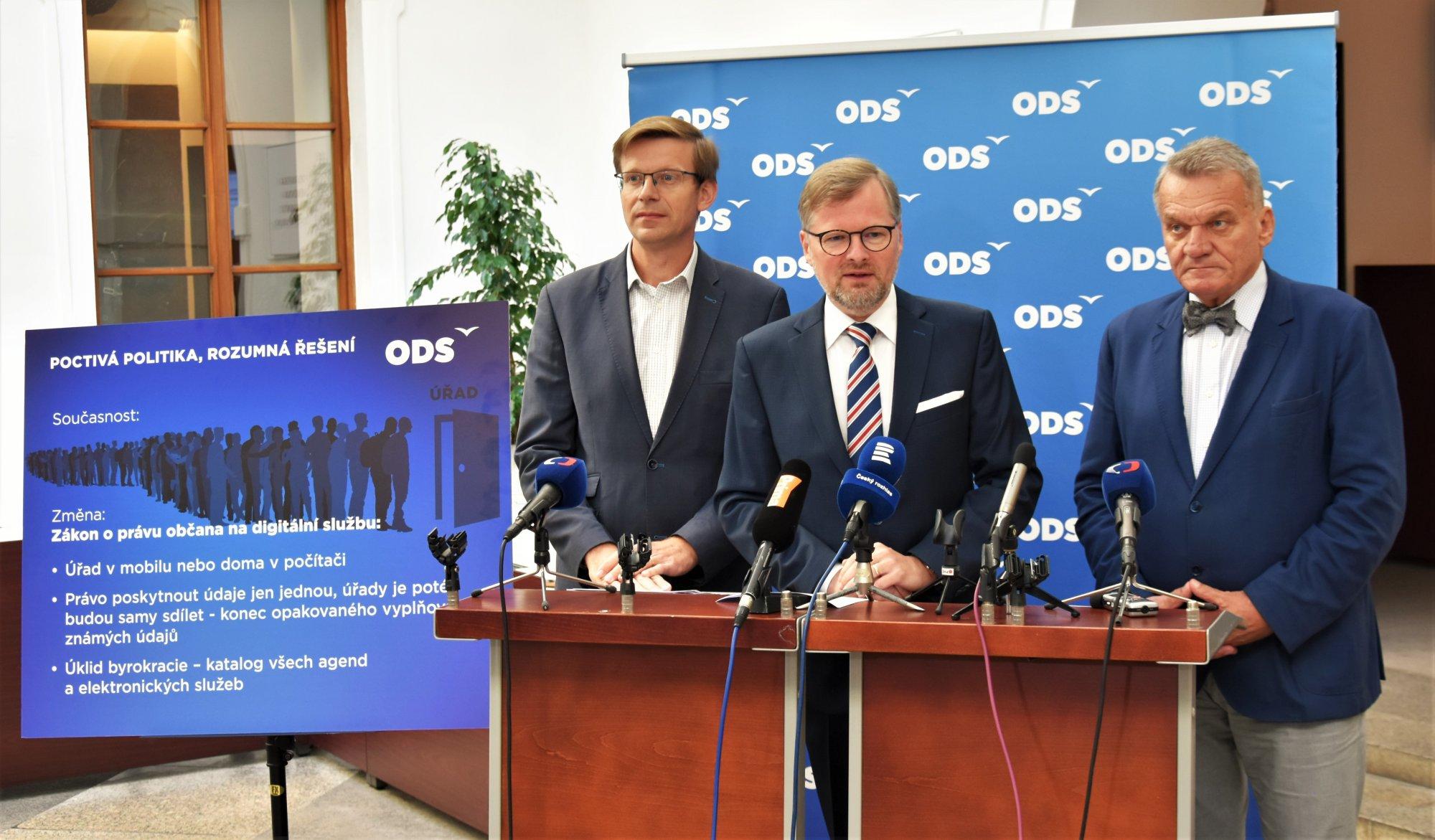 ODS: Právo na elektronickou komunikaci se státem stanovíme zákonem