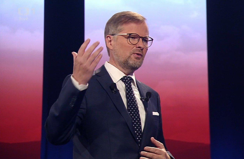 Petr Fiala: Superdebata České televize: Volby 2018