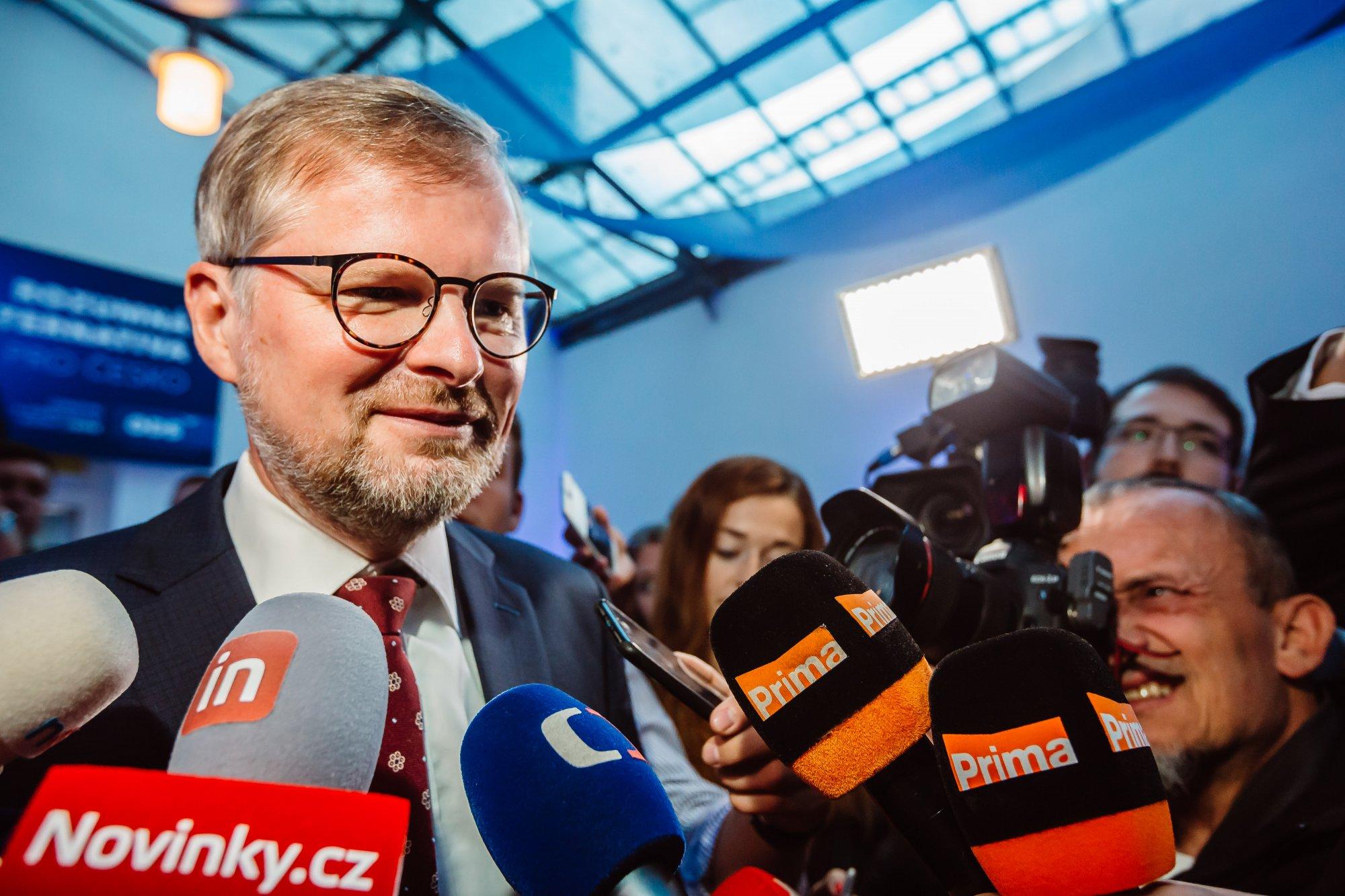 Petr Fiala: Jdeme správným směrem