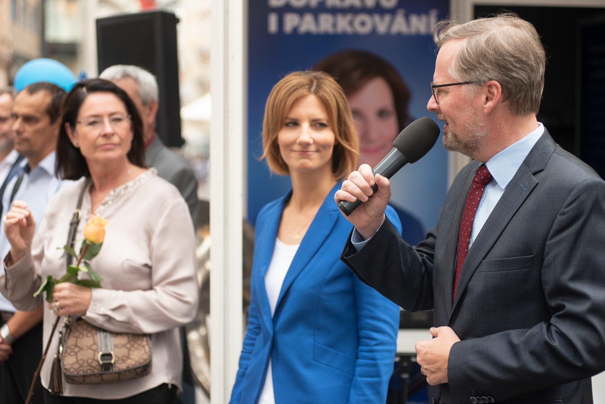Petr Fiala: Markéta Vaňková má mou plnou podporu