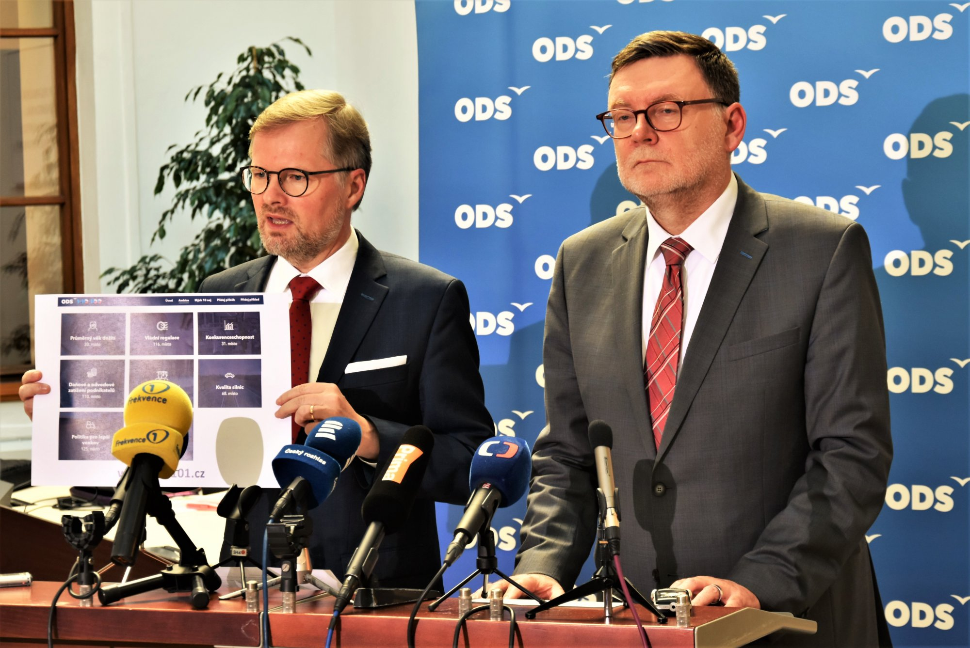 ODS: Náš cíl je jasný. Dostat Českou republiku mezi 10 nejúspěšnějších zemí na světě