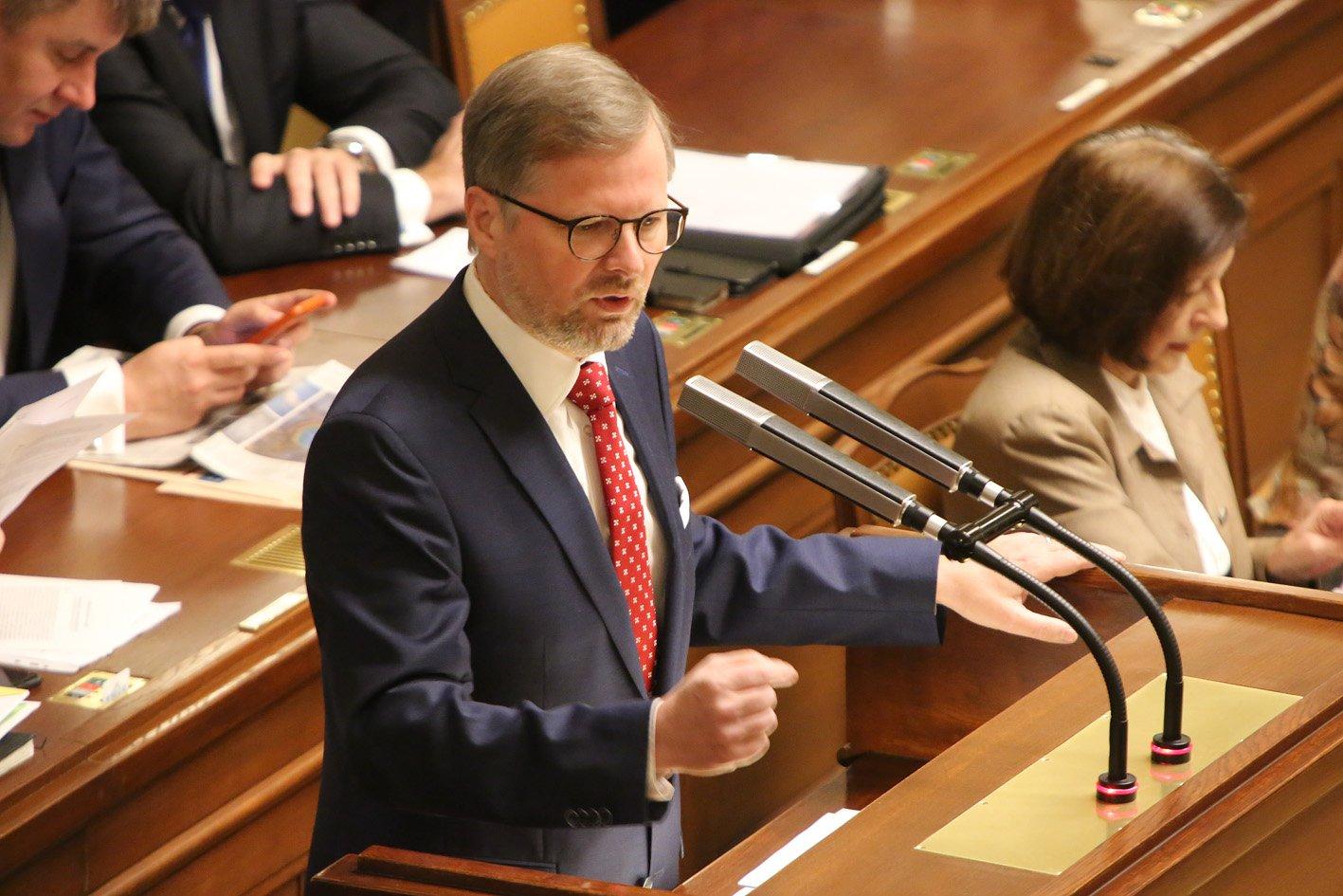 Petr Fiala: Projev na mimořádné schůzi Poslanecké sněmovny k návrhu na vyslovení nedůvěry vládě