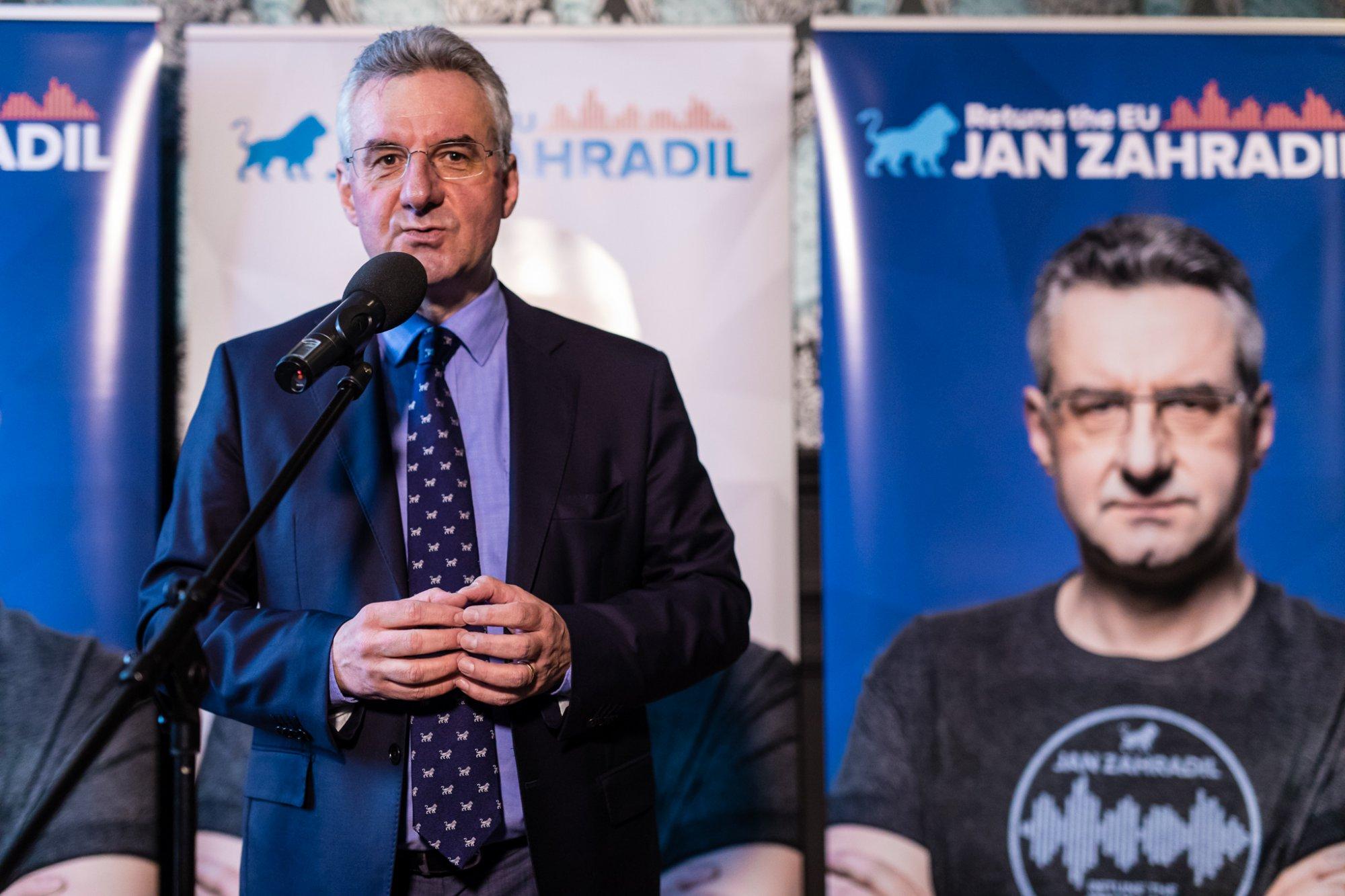 Jan Zahradil odstartoval kampaň na předsedu Evropské komise