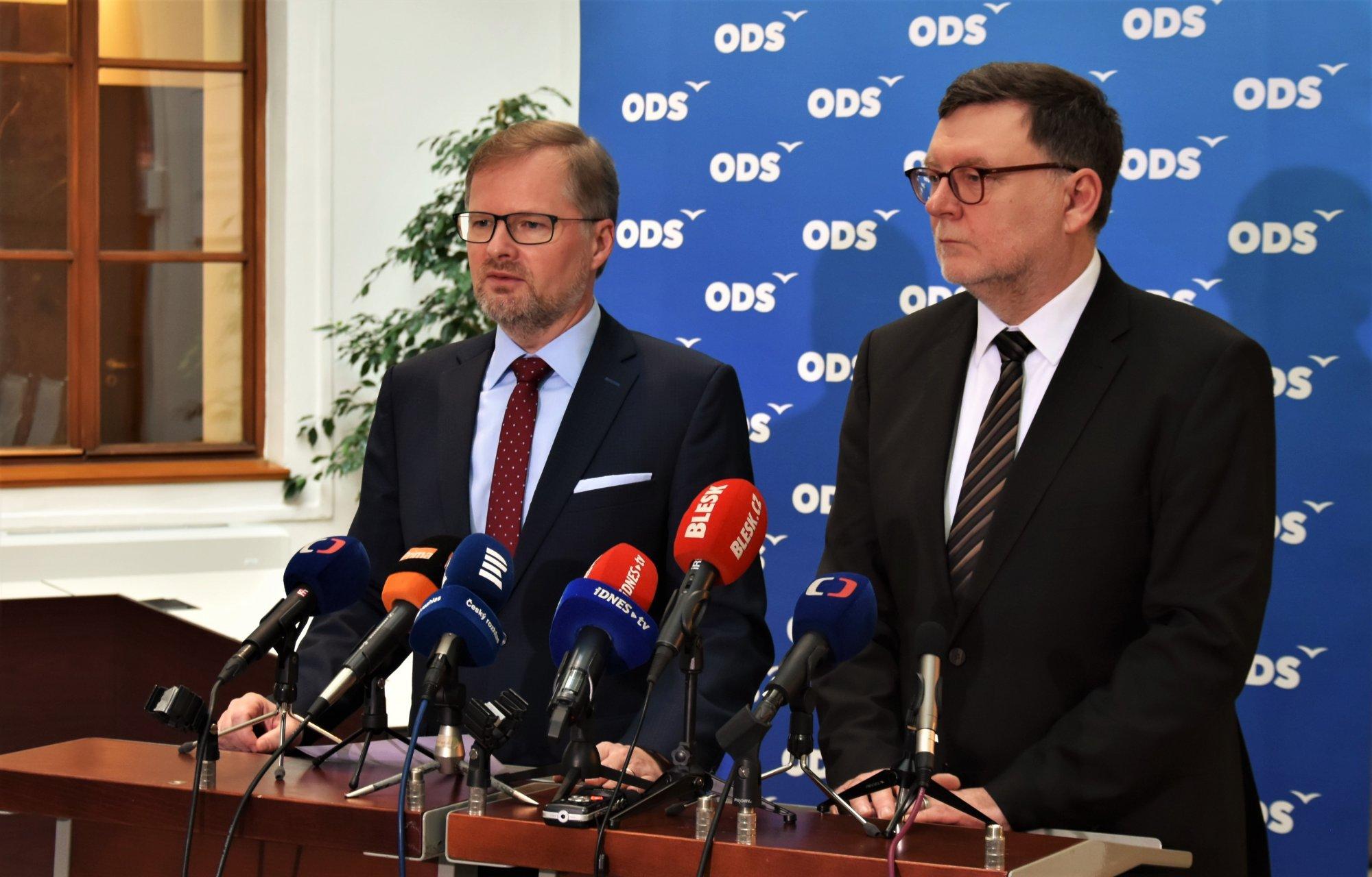 Petr Fiala: Čas na rezignaci ministryně Dostálové právě nastal