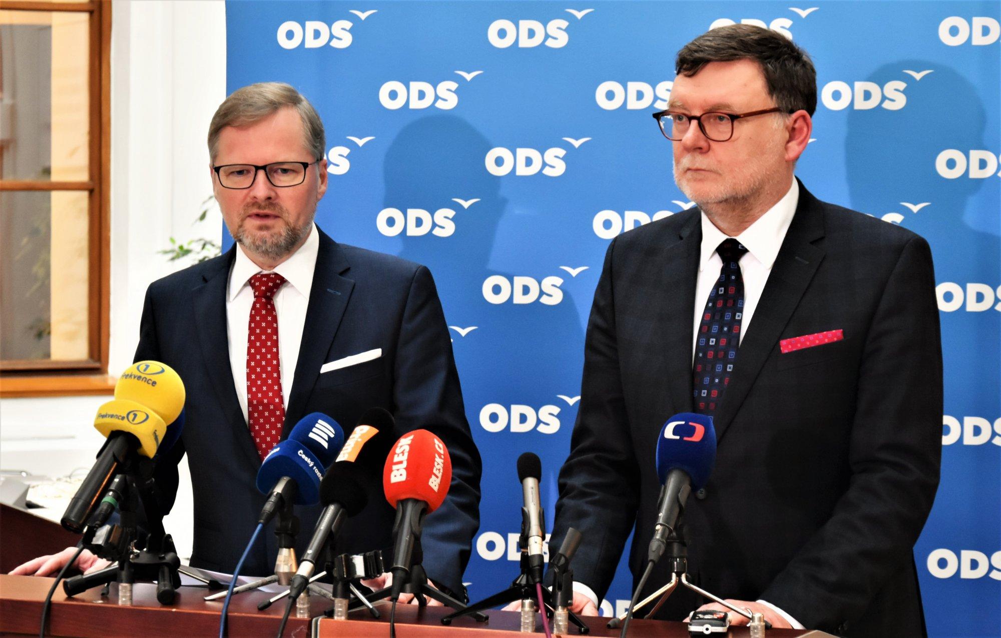 Petr Fiala: Vláda poškozuje zájmy České republiky