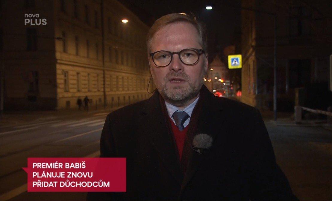 Petr Fiala: Televizní noviny