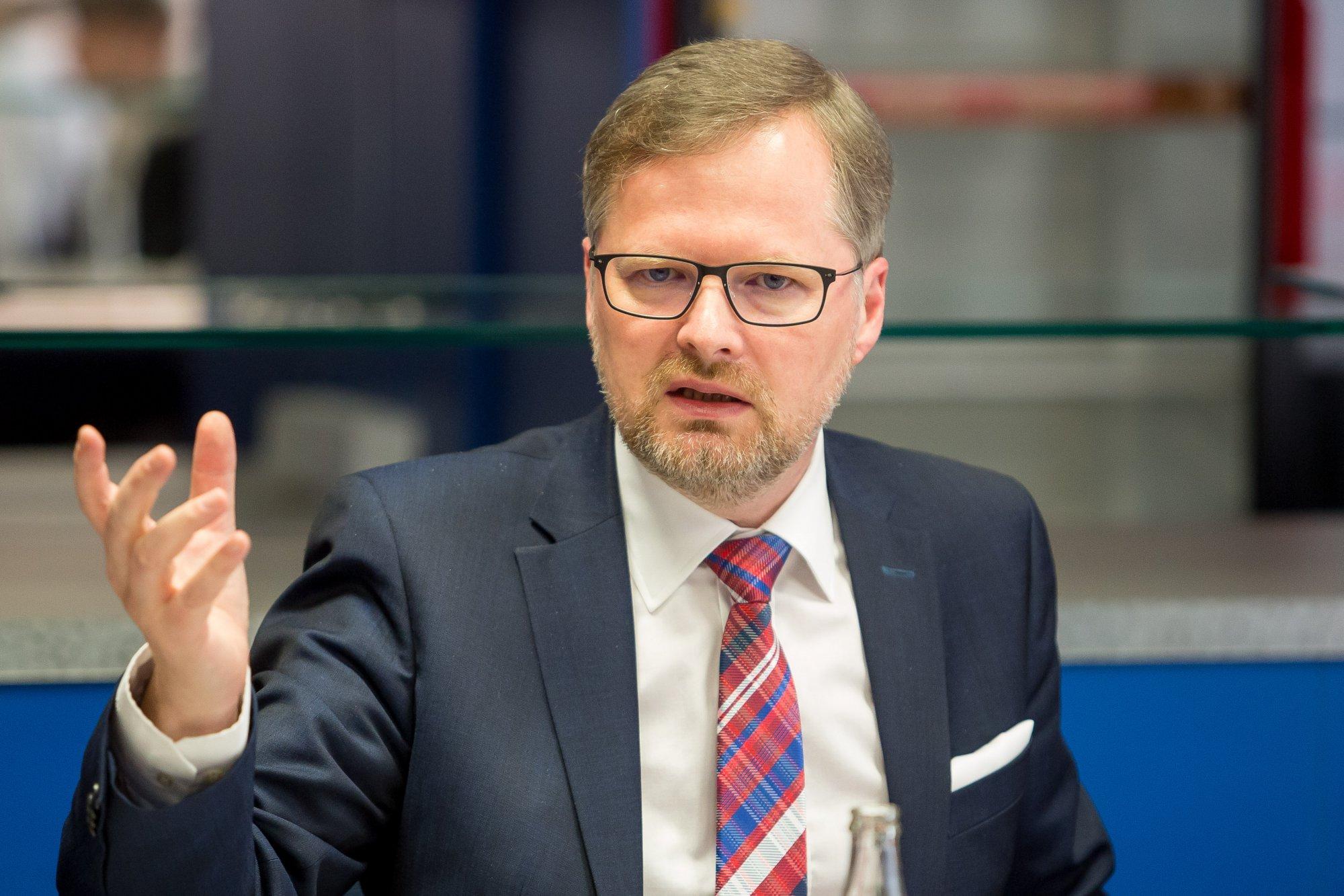 Výzva předsedy ODS Petra Fialy premiérovi a předsedovi hnutí ANO