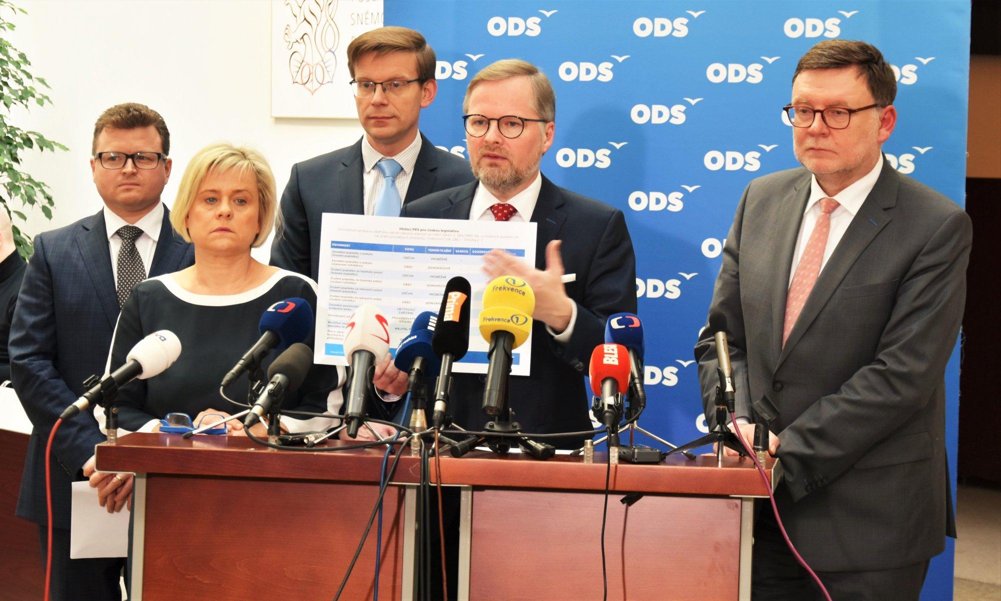 ODS: Udělali jsme první krok v reformě státu tak, aby stát sloužil lidem, ne lidé státu