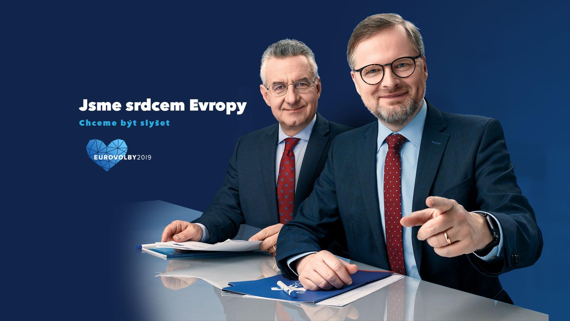 ODS: Česká republika je srdcem Evropy. Chceme být slyšet