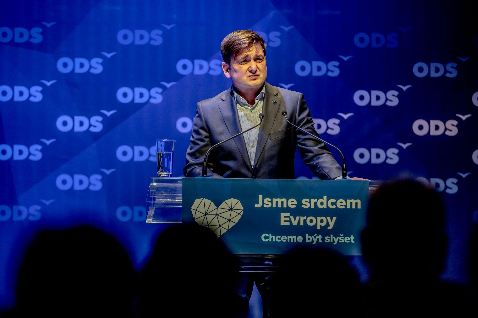Vystoupení experta pro bezpečnost na Programové konferenci ODS