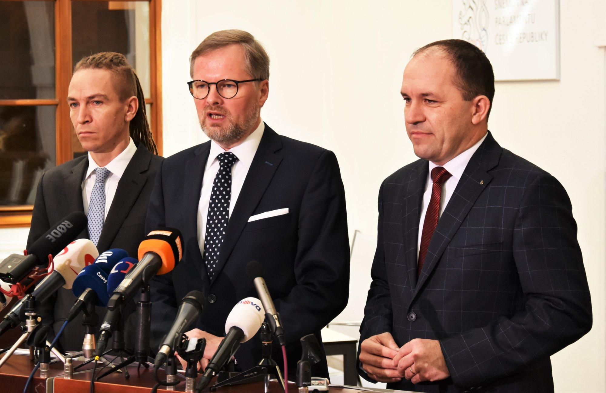 Petr Fiala: Neschopnost Babišovy vlády brání ČR v normálním fungování. Chceme mimořádnou schůzi Sněmovny