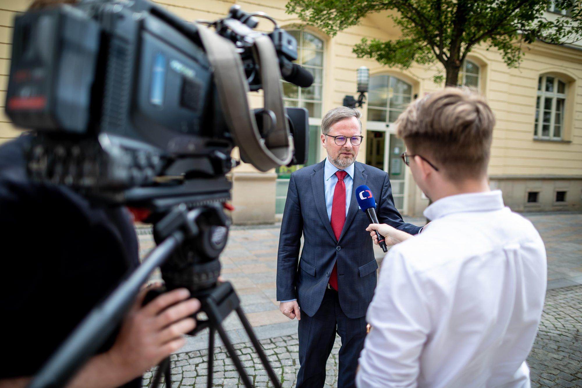 Petr Fiala: Politickou krizí se nelze promlčet. ODS nabízí změnu. Chceme znát názory stran, které drží u moci premiéra Babiše