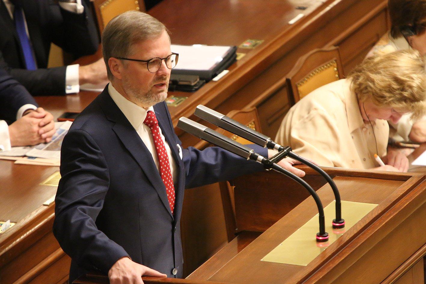 Petr Fiala: Interpelace na premiéra ve věci konkurenceschopnosti ČR