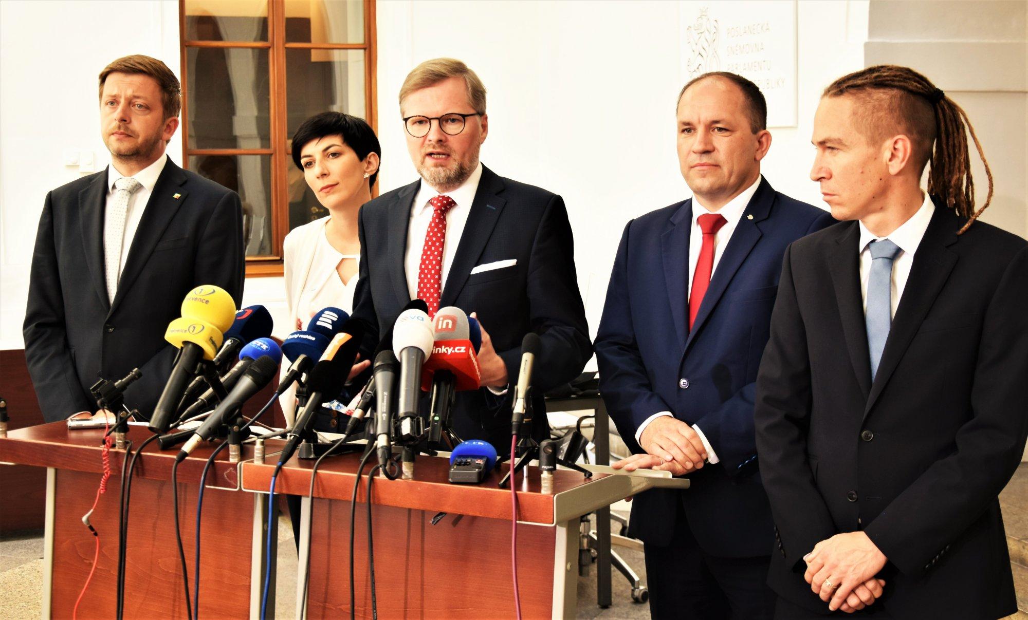 Petr Fiala: Kauzy Andreje Babiše přerostly únosnou mez. S opozičními stranami jsme se dohodli, že vyslovíme vládě nedůvěru